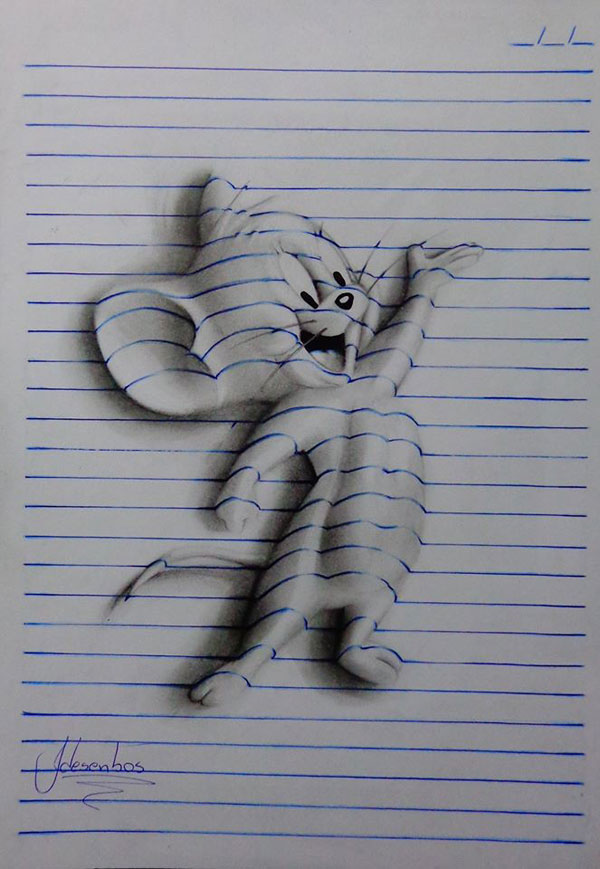 3d notepad art by joao carvalho (10)