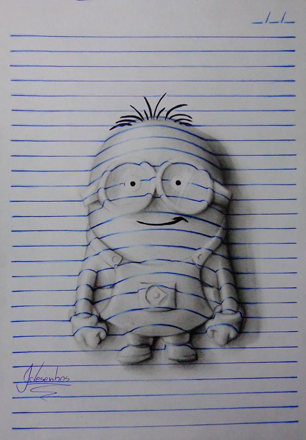 3d notepad art by joao carvalho (5)