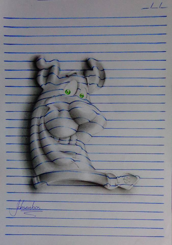 3d notepad art by joao carvalho (6)