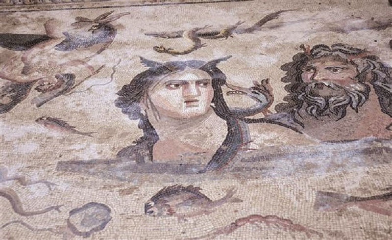ancient mosaics discovered in ancient greek city of zeugma (3)
