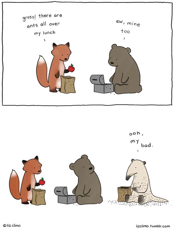 animal comics by simpsons artist liz climo (10)