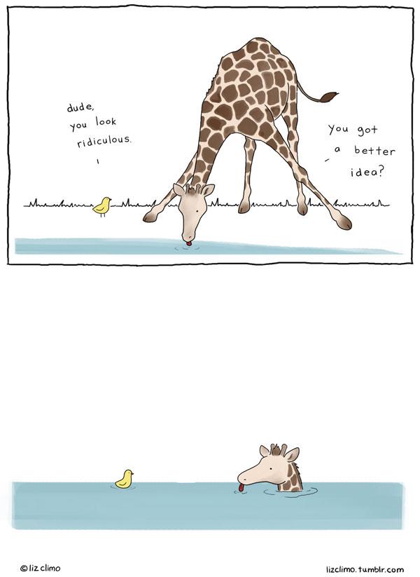 animal comics by simpsons artist liz climo (9)