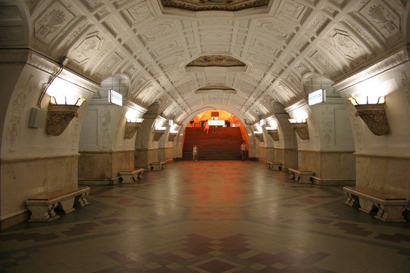 The Moscow Metro Has Some Beautiful Stations 171 Twistedsifter