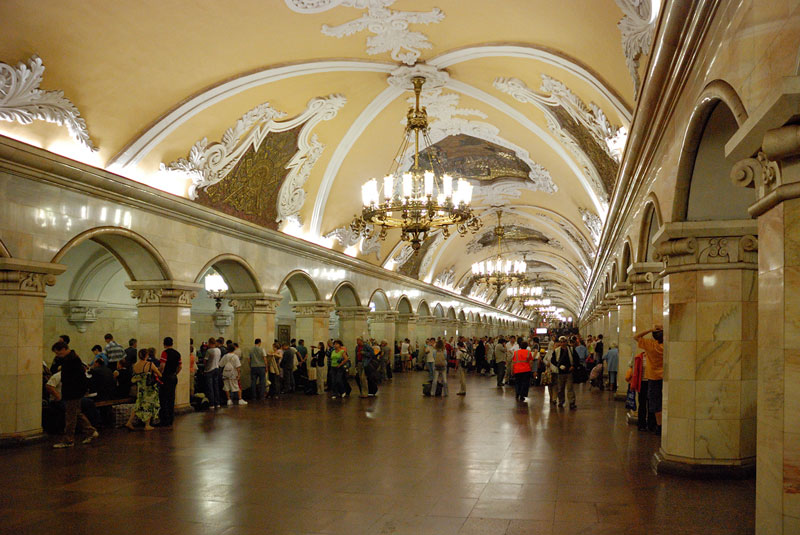 the moscow metro has some beautiful stations twistedsifter. Black Bedroom Furniture Sets. Home Design Ideas