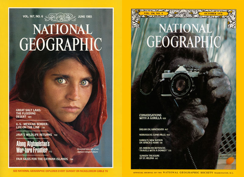 5 Famous National GeographicCovers