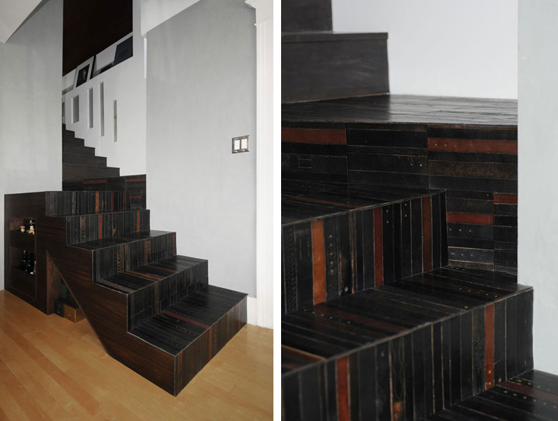 flooring rugs made from old leather belts by TING (8)