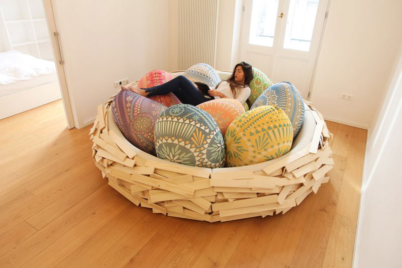 A Giant Bird Nest forHumans