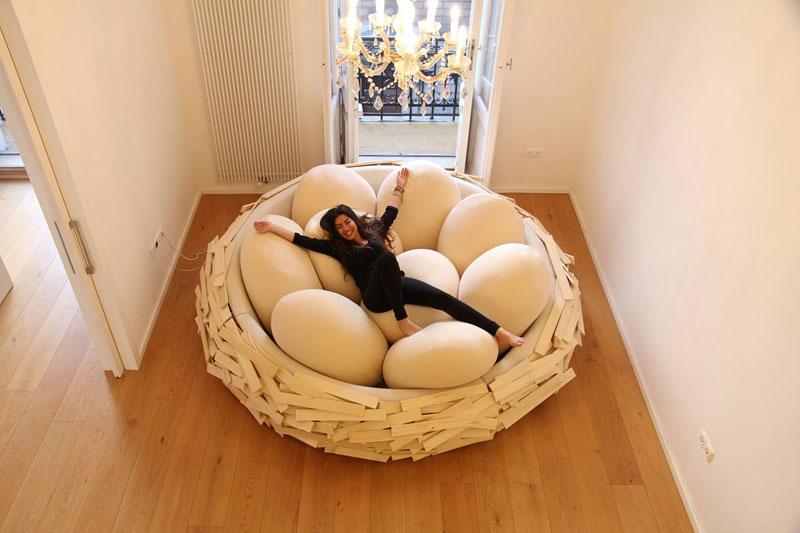 A Giant Bird Nest For Humans 171 Twistedsifter