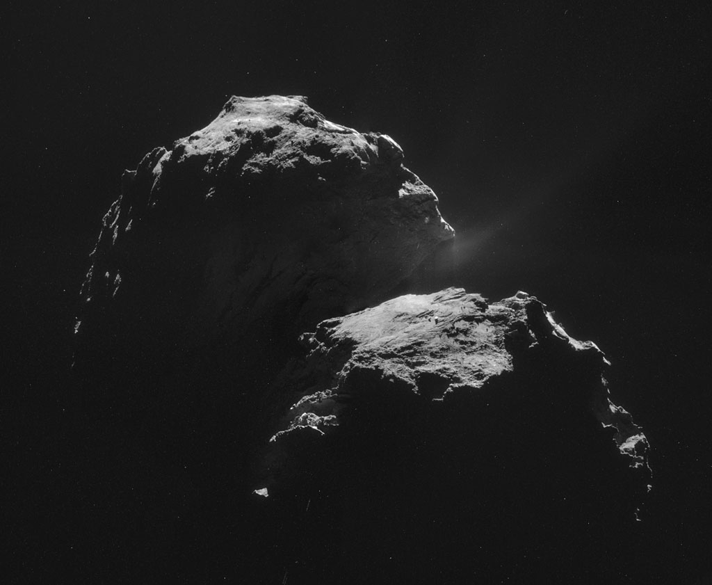 26 HQ Photos by Rosetta and Philae «TwistedSifter