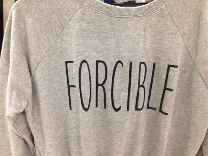 Japanese Discount Store Shirts with Random English Words (14)