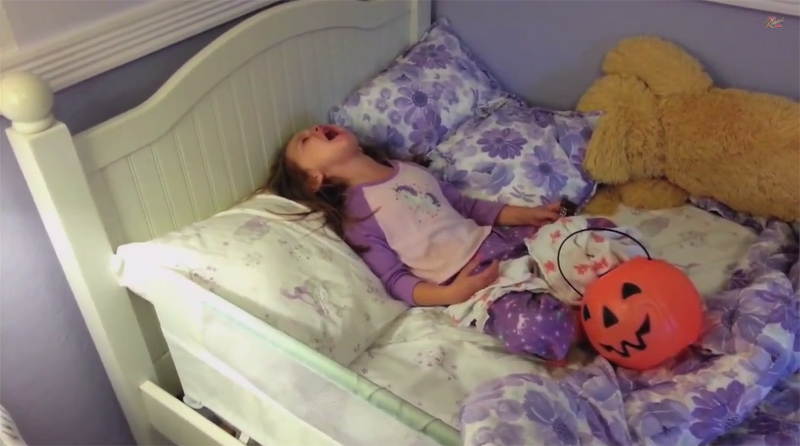 Parents Tell Their Kids They Ate All Their Halloween Candy2014