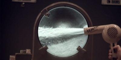 Visualizing Air Flow Using SchlierenOptics