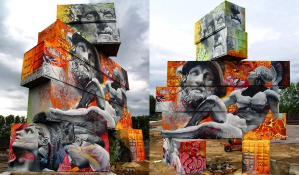 shipping-container-gods-graffiti-street-art-by-pichi-and-avo-north-west-walls-belgium-2014-(cover)