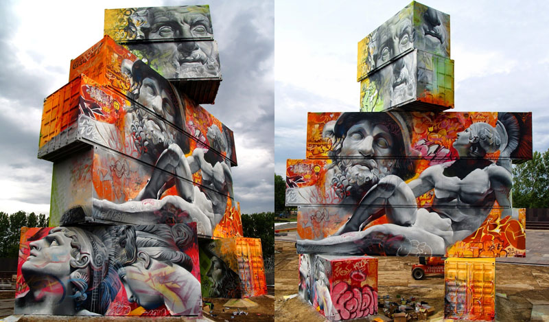 Shipping Gods by Pichi andAvo