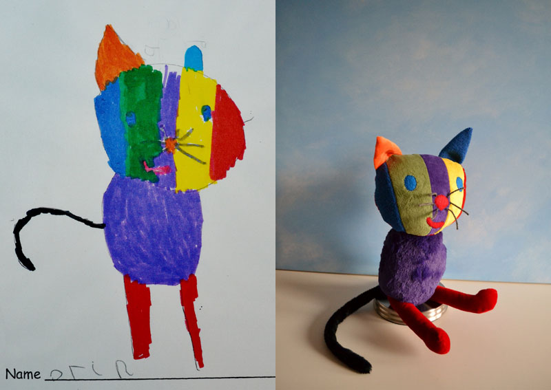 turning kids drawings into plush toys by childs own studio wendy tsao (2)
