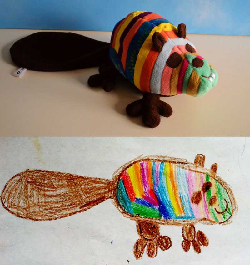 turning kids drawings into plush toys by childs own studio wendy tsao (8)
