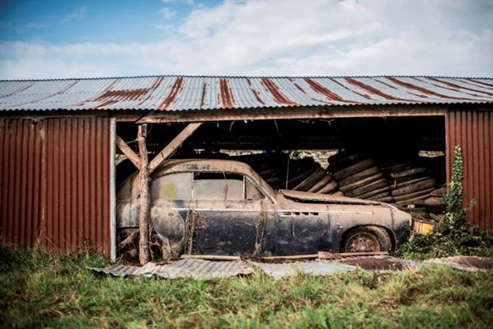 60 Rare Cars Worth Millions Found In French Countryside Untouched For 50 Years 8