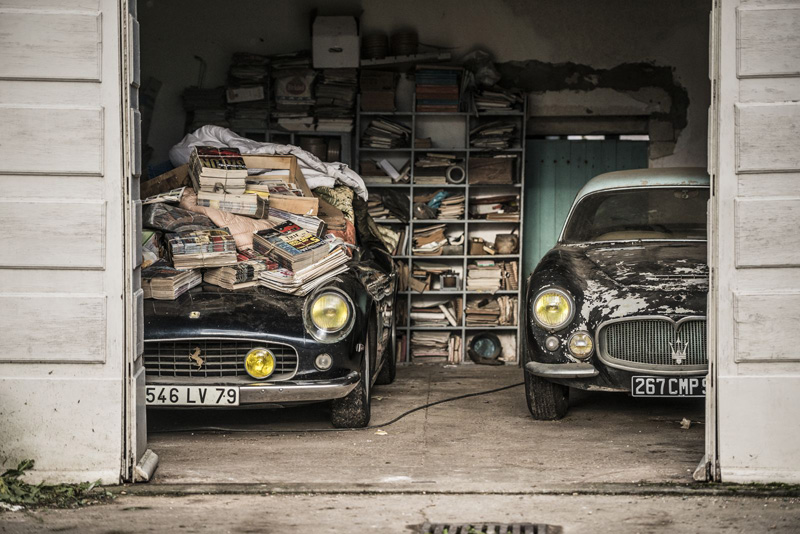60 Rare Cars Worth Millions Found in French Countryside, Untouched for 50Years