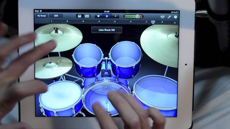 This Might Be the Best iPad Drum Solo Ever
