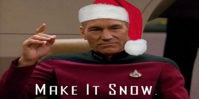 A Christmas Carol from Captain Picard