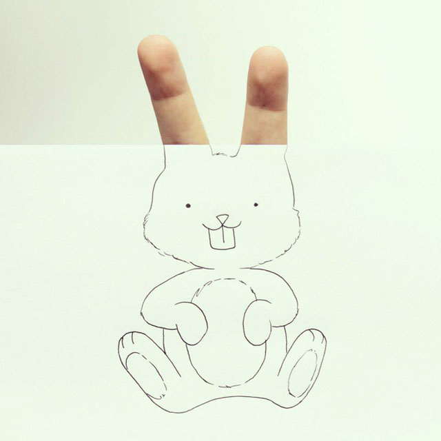 Clever Finger Doodles by Javier Perez (12)
