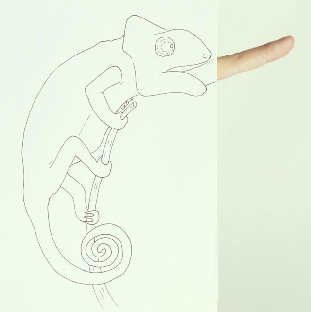 Clever Finger Doodles by Javier Perez (5)