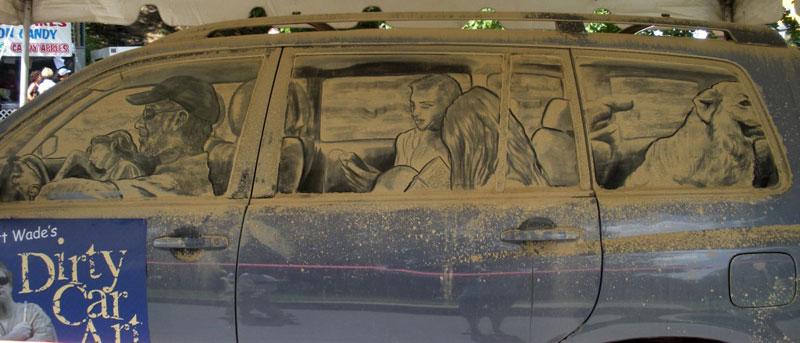dirty car art by scott wade (1)