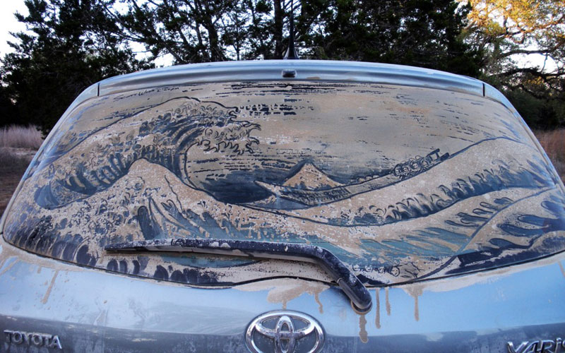 dirty car art by scott wade (10)