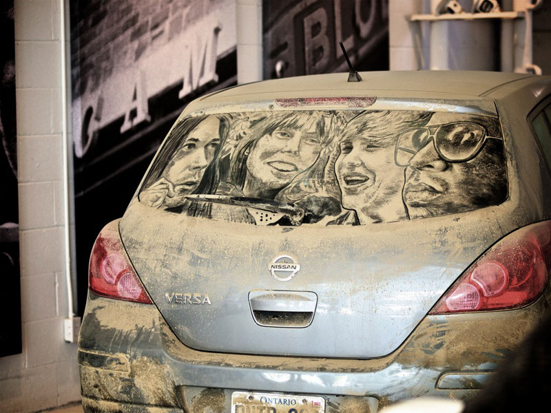 dirty car art by scott wade (2)