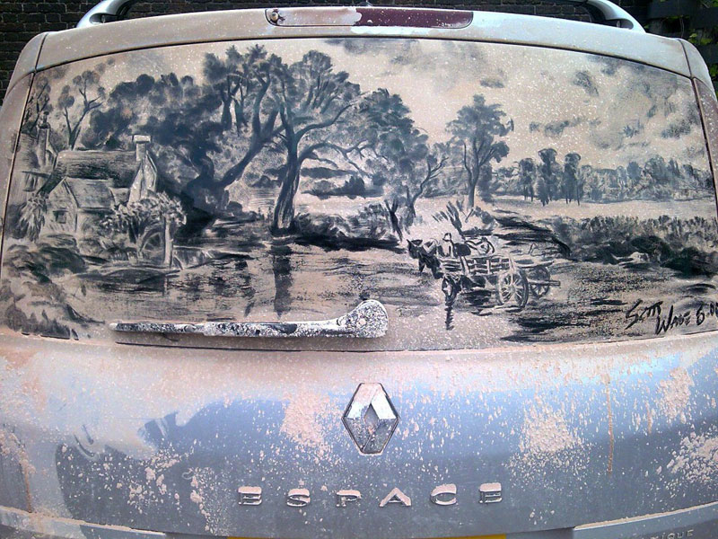 dirty car art by scott wade (3)