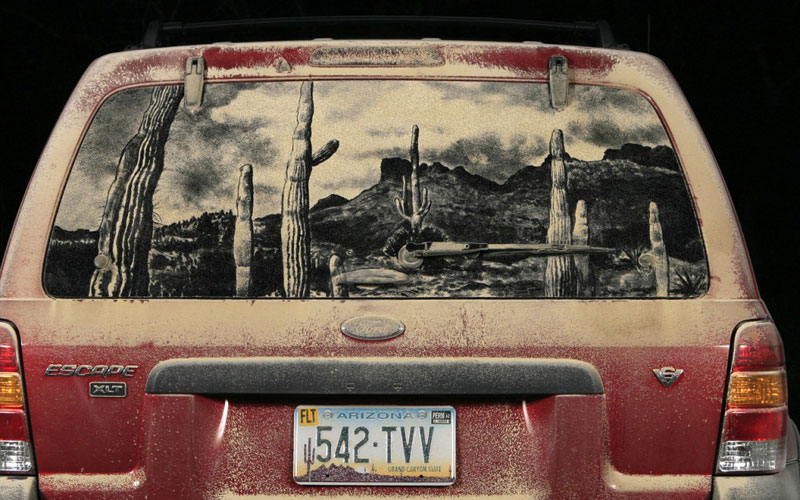 dirty car art by scott wade (4)