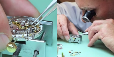 Disassembling and Reassembling a Rolex Submariner