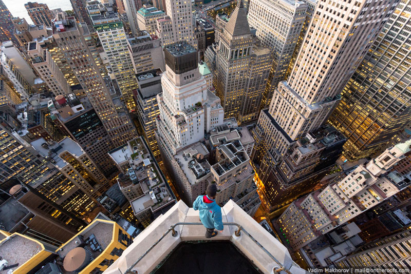 What New York City Looks Like from the Rooftops ofBuildings