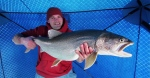 Guy Catches Monster Lake Trout