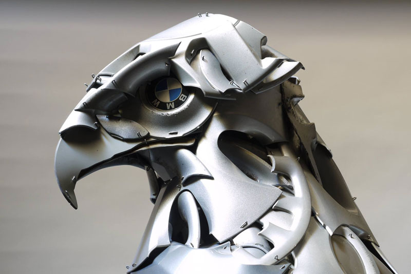 hubcap animal sculptures by ptolemy elrington (13)