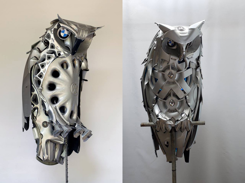 hubcap animal sculptures by ptolemy elrington (17)