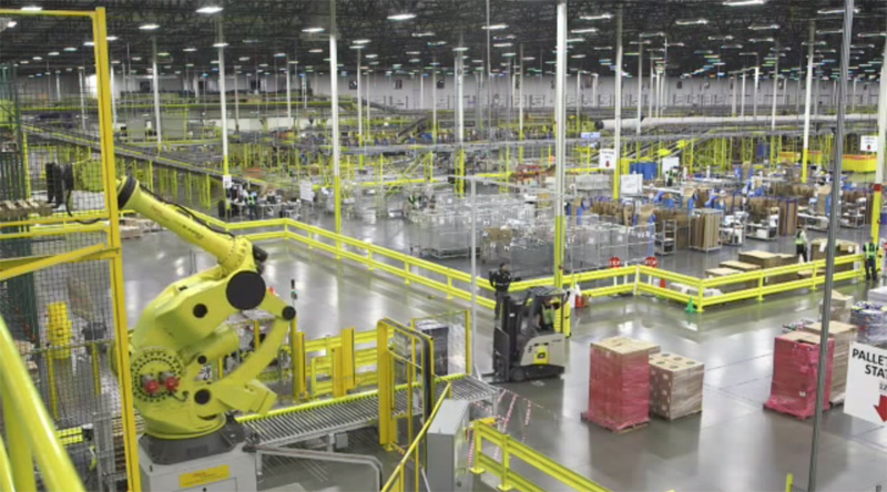 Inside Amazon's High Tech Fulfillment Centers