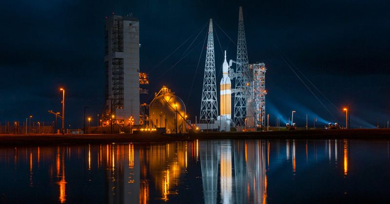 17 HQ Photos from NASA's OrionLaunch