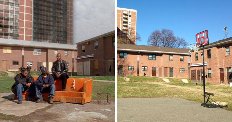 scens from the wire then and now the pit