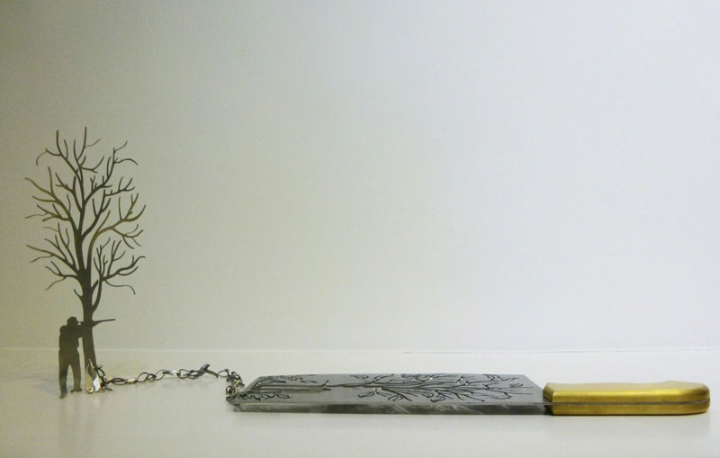 sculptures cut from the blades of knives li hongbo (6)