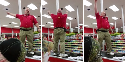 Target Manager Channels His Inner Spartan for BlackFriday