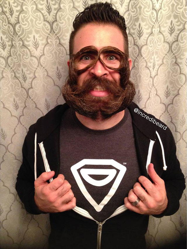 The Incredible Beards Of Incredibeard TwistedSifter - Mr incredibeard really coolest beard ever seen