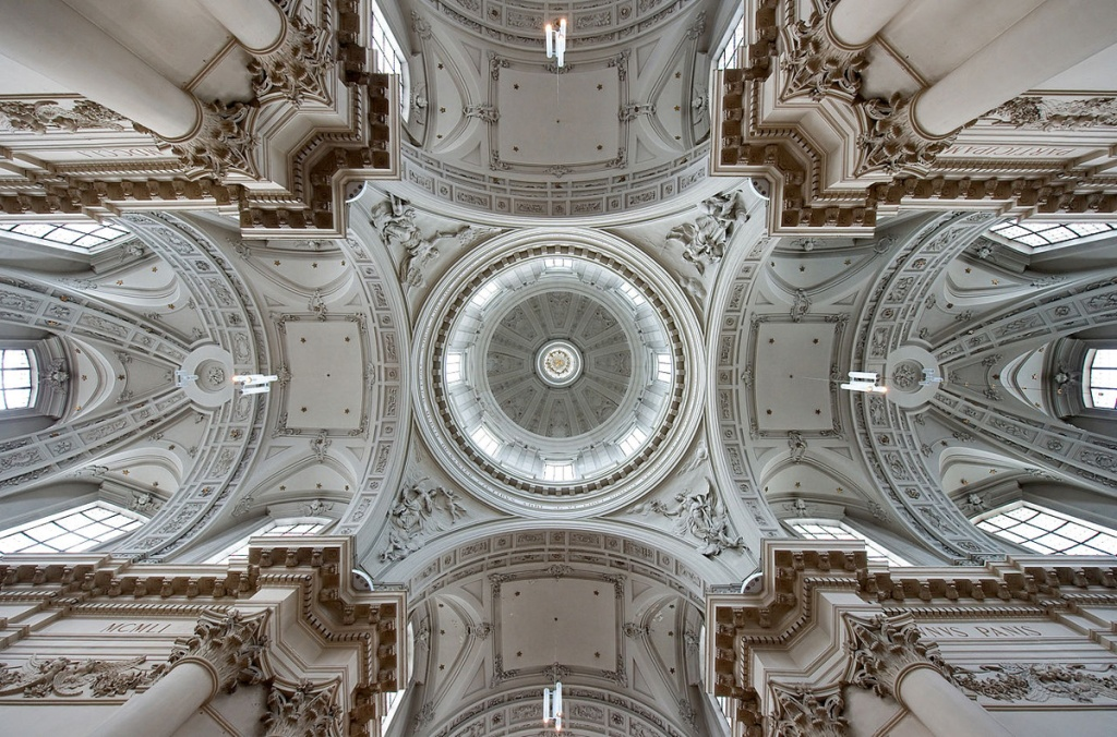 Picture of the Day: The Vaulted Ceilings of StAubin