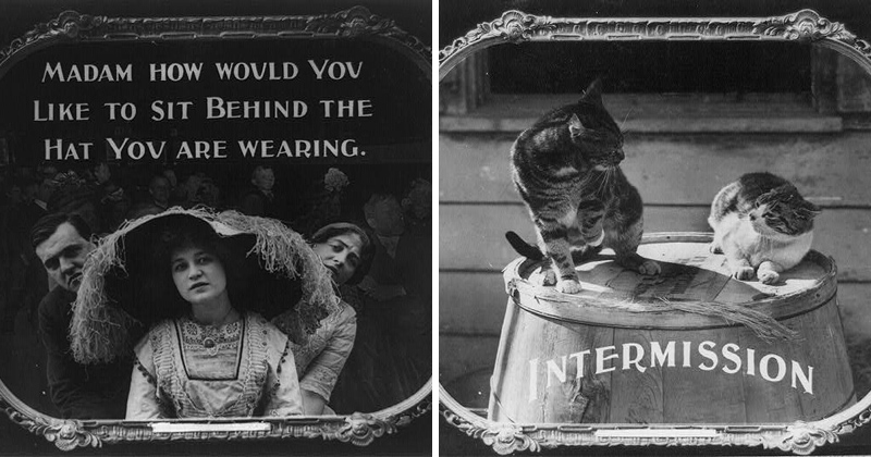 16 Vintage Movie Theatre Etiquette Posters from 1912
