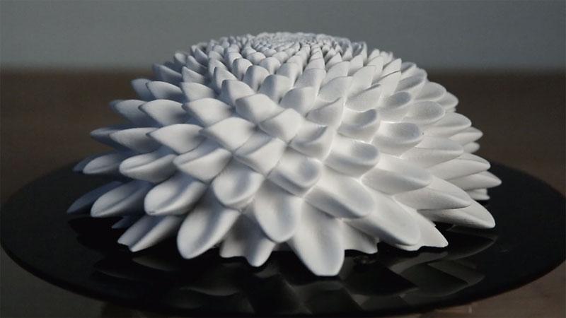 3D Printed Fibonacci Zoetrope Sculptures by John Edmark (3)