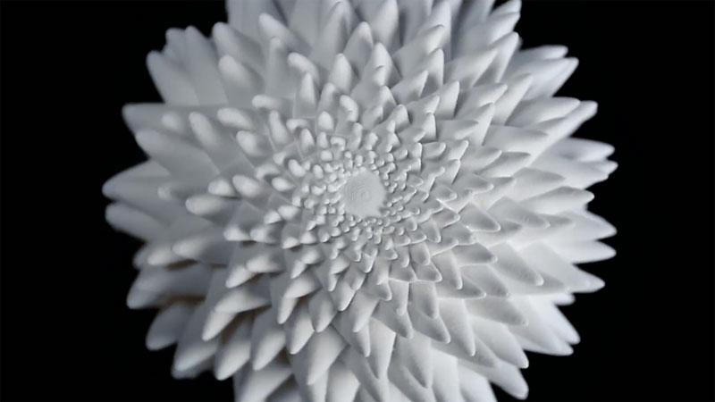 3D Printed Fibonacci Zoetrope Sculptures by John Edmark (5)