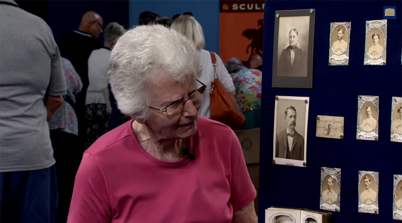 antiques roadshow tells woman her baseball cards are worth