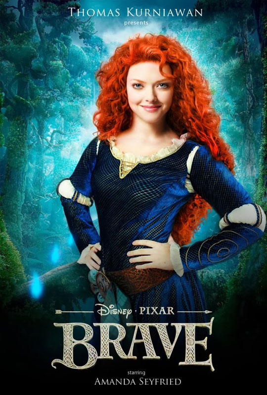 Artist Imagines Celebrities como Real-Life Disney Characters (10)