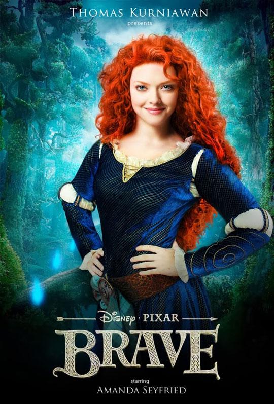 Artist Imagines Celebrities as Real-Life Disney Characters (10)