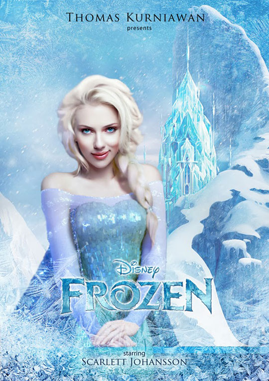 Artist Imagines Celebrities como Real-Life Disney Characters (5)